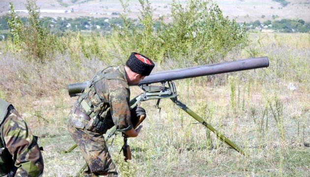 Militants launched 48 attacks on Ukrainian troops in Donbas in last day