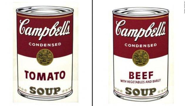 З музею вкрали сім «банок супу» Ворхола