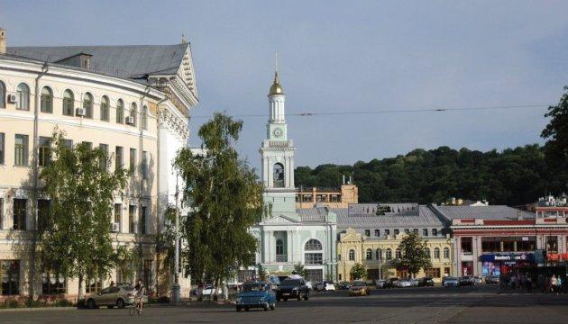У Києві на Подолі перекрили рух