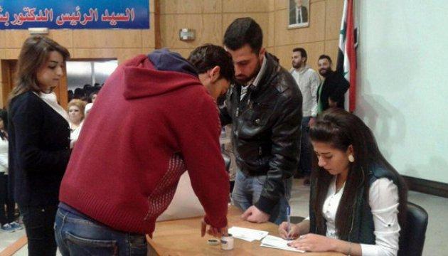 У Сирії розпочалися парламентські вибори