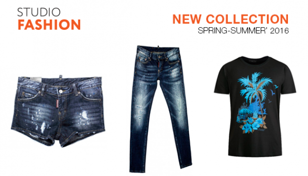 В інтернет-магазині Studio Fashion з'явилися нові колекції весна-літо 2016 року