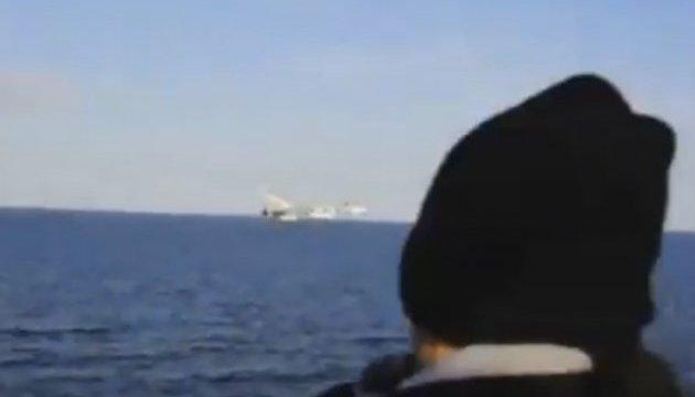США показали запис російської провокації поруч з американським есмінцем