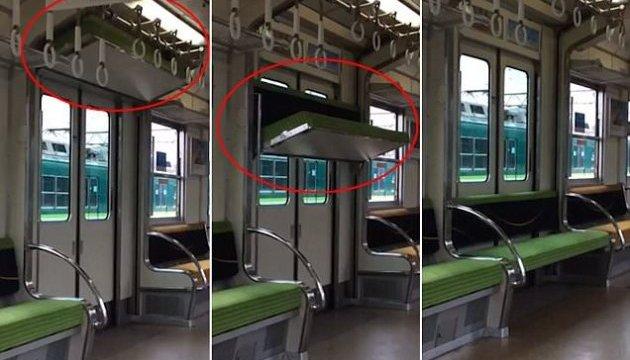 У поїздах Японії з'явилися незвичайні економічні місця біля дверей