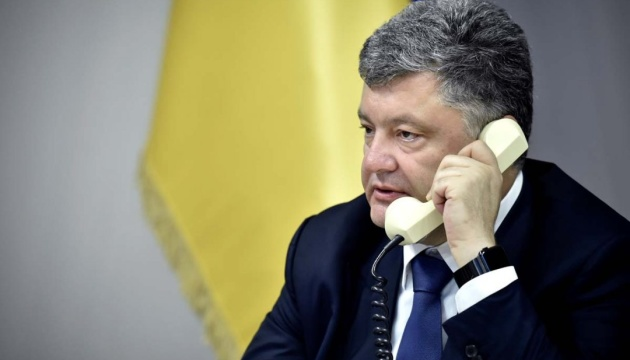 Poroshenko, Trump to hold telephone conversation today