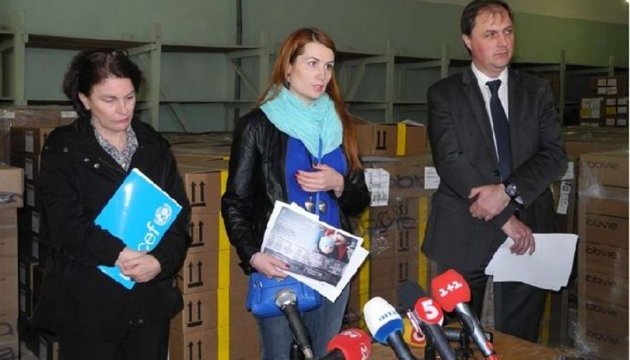 UNICEF delivers first shipment of medicines and vaccines in Ukraine