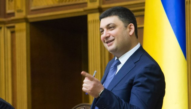 Hollande, Merkel voice support for newly elected PM Groysman