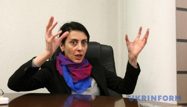 Деканоідзе каже, що її хочуть позбавити громадянства Грузії