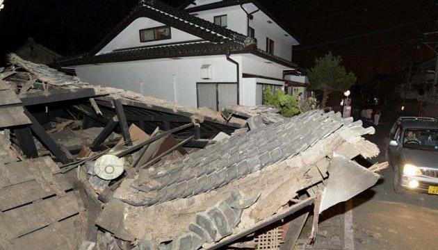 В Японии снова произошло мощное землетрясение