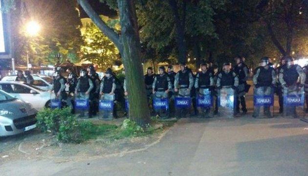 Протести в Македонії тривають п'ятий день