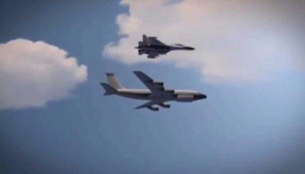 Російський Су-27 перехопив над Балтикою літак-розвідник США