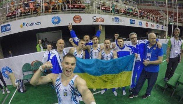 Українські гімнасти здобули командну олімпійську ліцензію