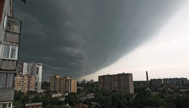Thunderstorms expected in some regions of Ukraine today – State Emergency Service