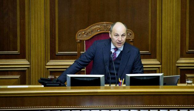 Парубій обіцяє захистити українські пісні за тиждень