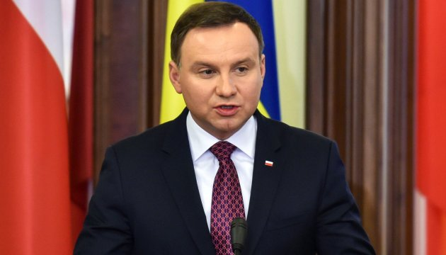 President Duda: Polish people demonstrate solidarity with people of Ukraine