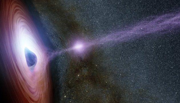 Астрономы показали взрыв звезды, «поедает» черная дыра