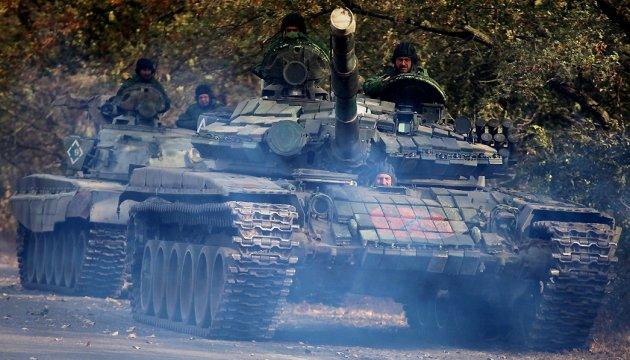 Бойовики у пожежній частині Докучаєвська заховали цілу танкову роту