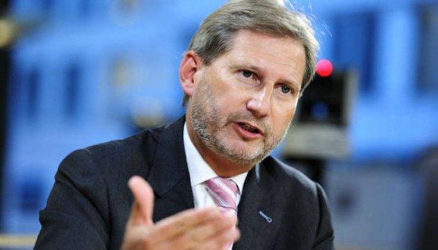 Ган анонсував допомогу Україні в €50 мільйонів - Геращенко