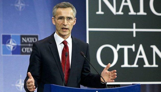 Столтенберг говорит, Украина не подает заявку в НАТО, потому что реформируется