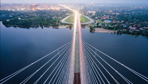 У Києві відсьогодні обмежують рух по Південному мосту