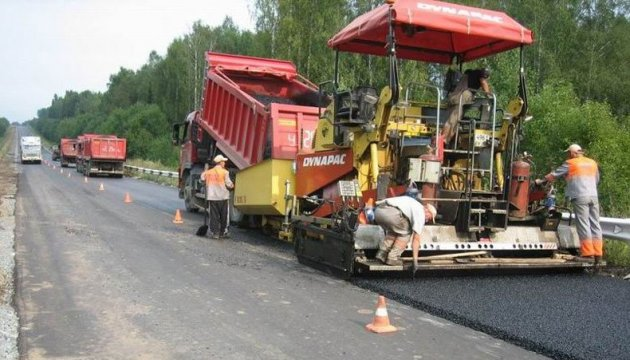 Lviv, Odesa, Luhansk regions among leaders in road construction