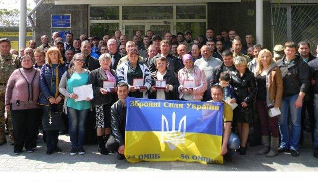 Запоріжці вшанували героїв 23 окремого мотопіхотного батальйону