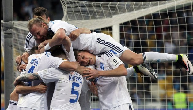 Dynamo Kyiv win Ukrainian soccer championship before season ends