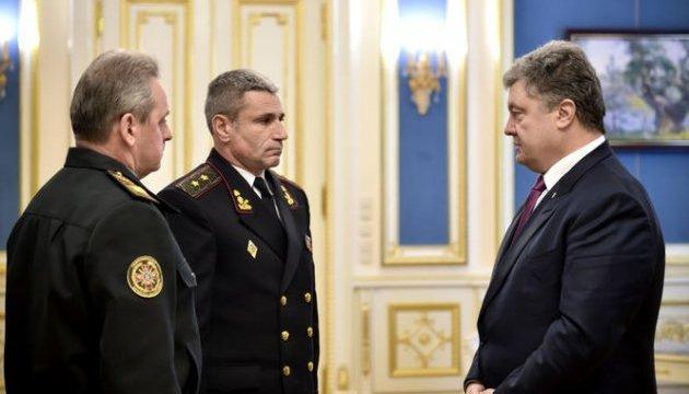 Poroshenko appoints new Navy commander