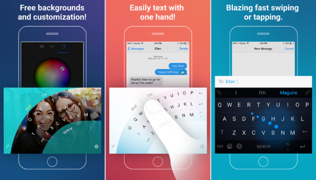 Клавіатура Word Flow для iOS від Microsoft