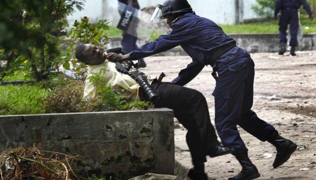 Поліція вбила сімох протестувальників у Конго