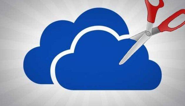 Microsoft зменшить обсяг безкоштовного сховища OneDrive