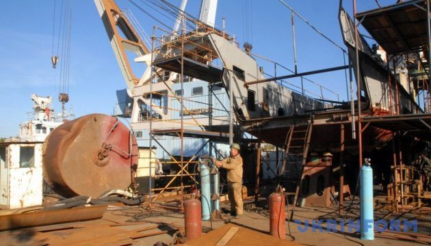 Ремонт военных кораблей: на николаевском заводе
