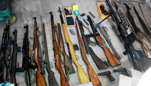 Полицейские обнаружили арсенал оружия, боеприпасов и взрывчатки на Черкасщине