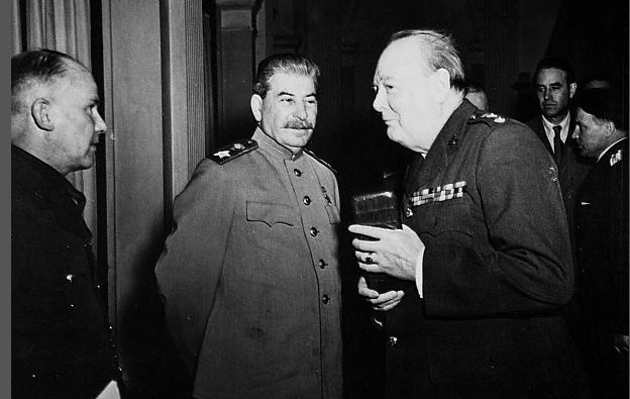 Сталін і Черчілль / Фото: www.liveinternet.ru