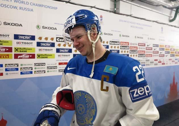 Капітан збірної Казахстану Роман Старченко розповідає про майбутнього суперника - збірну Росії
