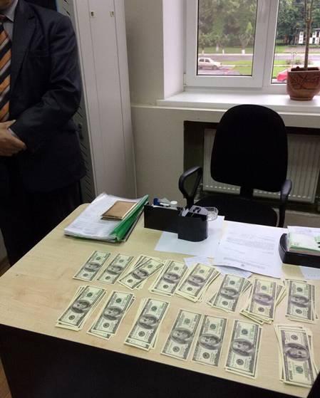 СБУ поймала на взятке председателя РГА фото: СБУ