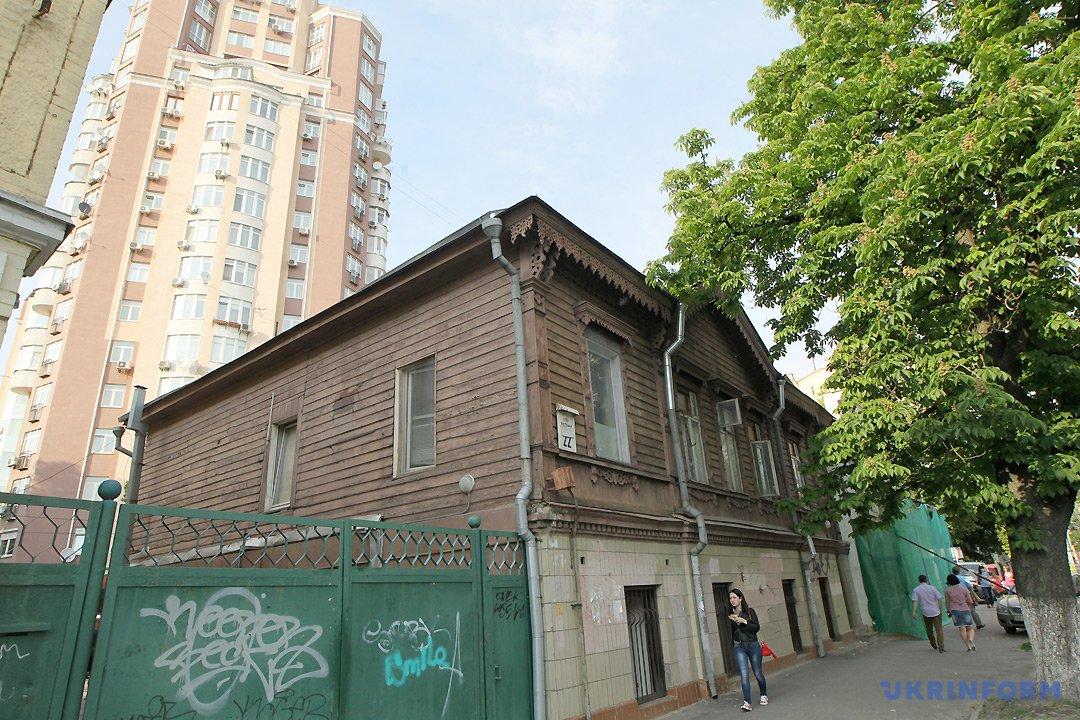 Історичний будинок на вулиці Січових Стрільців / Фото: Павло Багмут, Укрінформ.