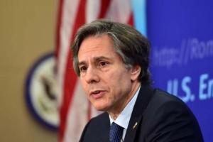 Блінкен назвав дії влади Білорусі щодо Тимановської «транснаціональними репресіями»