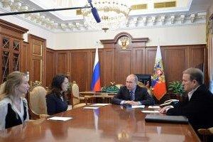 """Путін на зустрічі з Медведчуком вкотре заговорив про """"прямі контакти"""" з ОРДЛО"""