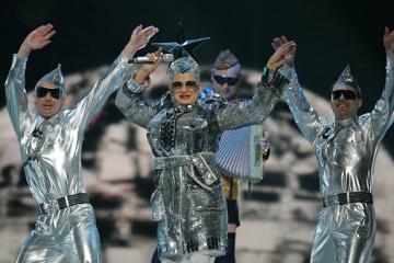 Verka Serduchka es la estrella invitada en Eurovisión 2019