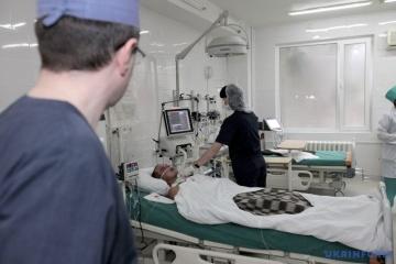 Sixty-three Ukrainian combat veterans undergo medical rehabilitation abroad