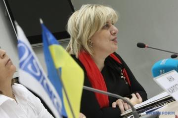 Mijatoviс planea visitar Ucrania después de las elecciones presidenciales