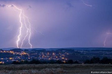 В Черкасской области молния убила трех человек