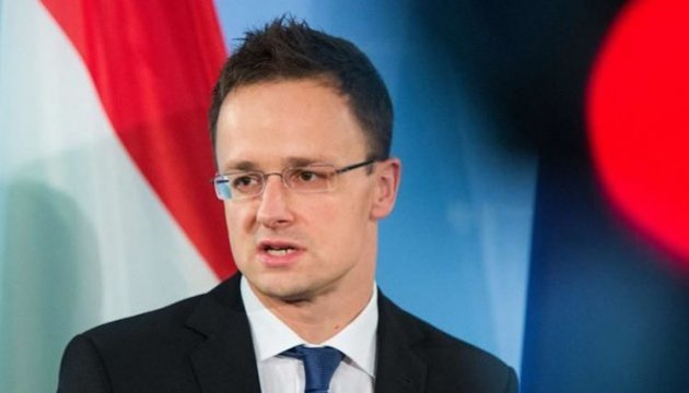Hungarian foreign minister declines to meet with Klimkin in Zakarpattia - media