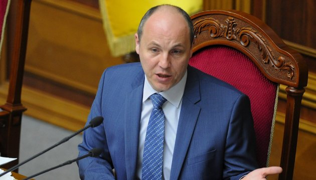 Speaker Parubiy calls on international community not to forget about Crimea