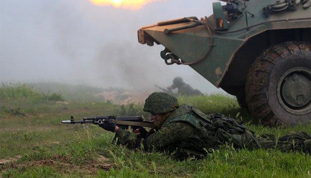 Ostukraine: Terroristen schießen auf Armeestellungen weiter