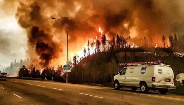 Пожежі в Каліфорнії: боротьбу з вогнем ведуть 700 пожежників
