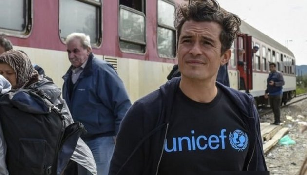 Hollywood actor Orlando Bloom releases video address to Donbas children