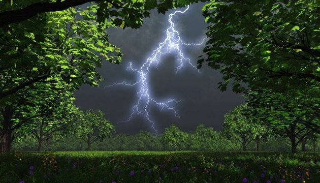 Rain and thunderstorms expected in Ukraine on Wednesday