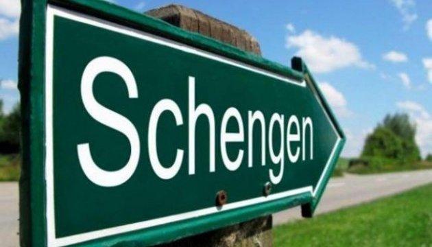Кількість заявок українців на шенгенську візу ще велика