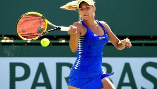 Цуренко поступилася Бачинські на турнірі у Римі